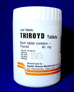 Naturalny ekstrakt z tarczycy Thiroyd