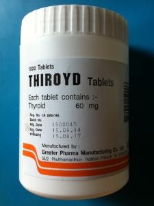 Thiroyd ekstrakt z tarczycy świńskiej